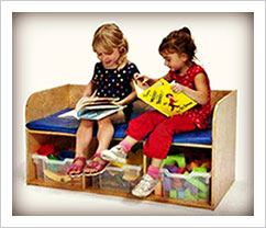 children's reading bench