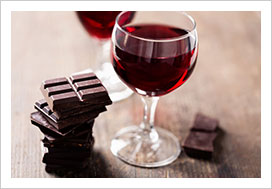 wine chocolate teambuilding