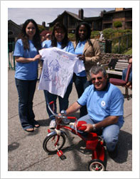 bicycle charity teambuilding
